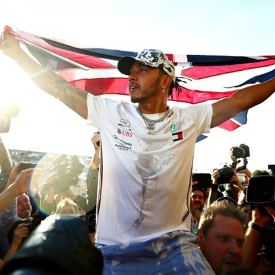 Hamilton racing the record book for motivation after title celebrations