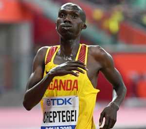Cheptegei breaks sub-13 minute barrier for new 5km world record