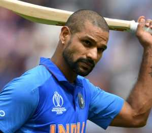 India's Shikhar Dhawan ruled out of the World Cup