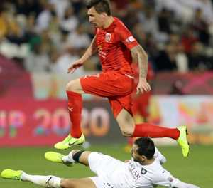 Mandzukic scores on Al Duhail Champions League debut