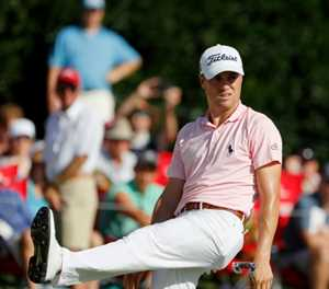 Schauffele surges to share of Tour Championship lead with Thomas, Koepka
