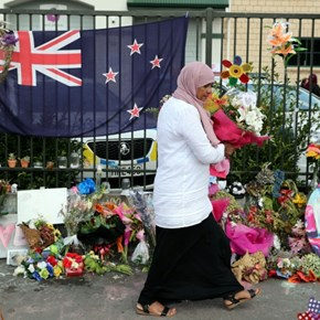 Defiance, tears and joy as Christchurch unites