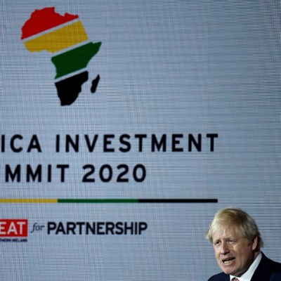 UK PM raises visas in pitch for post-Brexit trade with Africa