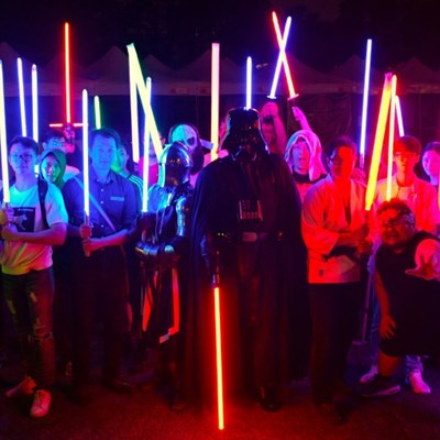 Attack of the clones as Star Wars fans design own lightsabers