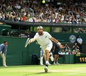 Wimbledon finalist Berrettini out of Tokyo Olympics with injury