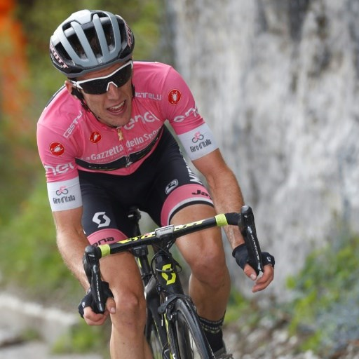 Yates extends overall lead with third Giro stage win