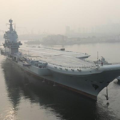 China confirms aircraft carrier sailed through Taiwan Strait