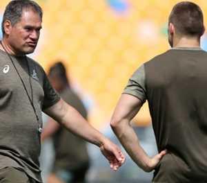 Wallabies coach Rennie shuffles pack for Bledisloe II