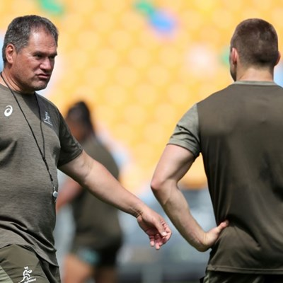 Wallabies coach Rennie shuffles pack for Bledisloe II