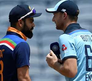 England win toss, bowl in second ODI against India