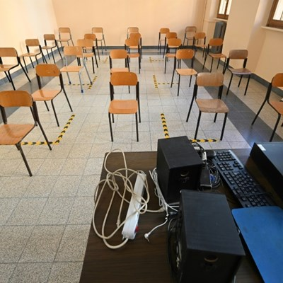 Bell rings on new virus-era reality at Italy schools