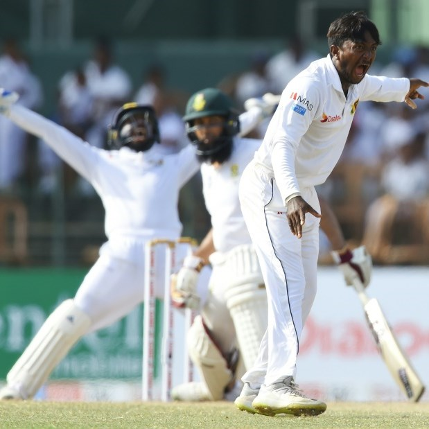 Sri Lanka close in on whitewash of S. Africa