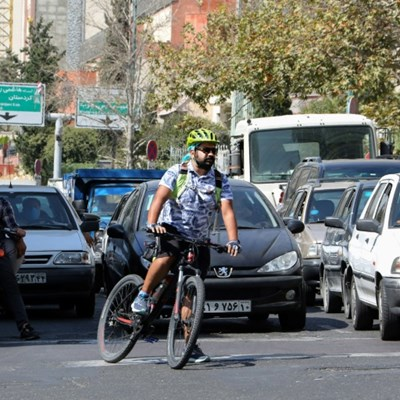 Uphill battle but Tehran aims to become bike-friendly
