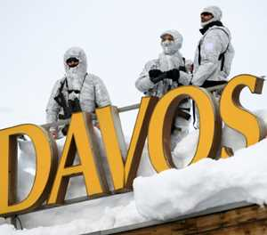 No vodka or caviar? Russia's Davos party coming to an end