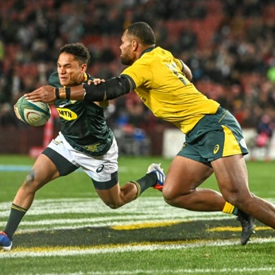 Springboks coach Erasmus hails 'awesome' new boy Jantjies