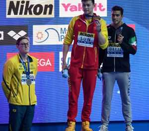 I've moved on from Sun feud says Australia swimmer Horton