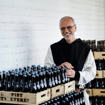 Belgian drinkers' faith rewarded as monks get beer out