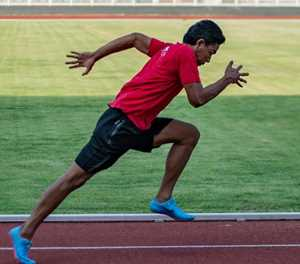 From bamboo shack to running track, sprinter buoys Asian Games hosts