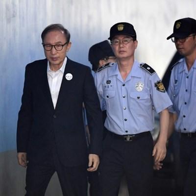 Former South Korean president jailed after losing appeal