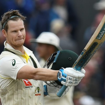 Australia's Smith marks Test comeback with Ashes century