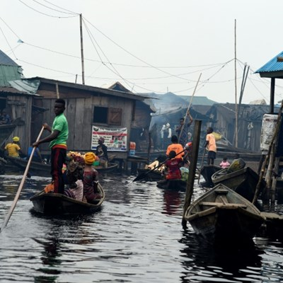 Drone project aims to put floating Lagos slum on map
