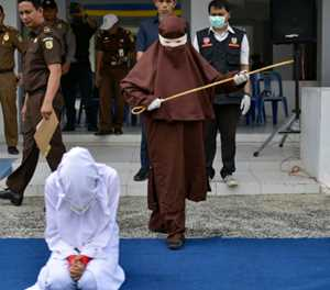 Indonesia's Aceh unveils new female flogging squad