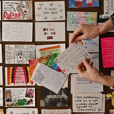 Racy secrets revealed in Brits' lockdown postcards