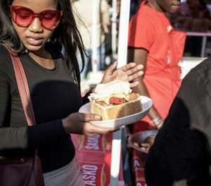 S.Africa's Soweto township celebrates iconic street snack