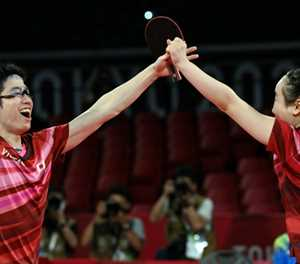 Japan stun China to win historic Olympic table tennis gold