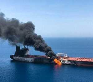 Iran denies tankers attack as tensions soar