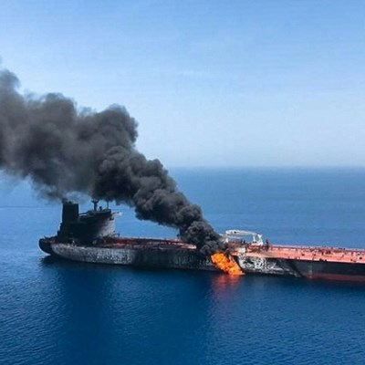 Iran denies tankers attack as tensions soar