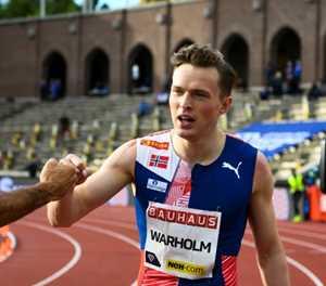 Warholm eyes 400m hurdles world record at Ostrava