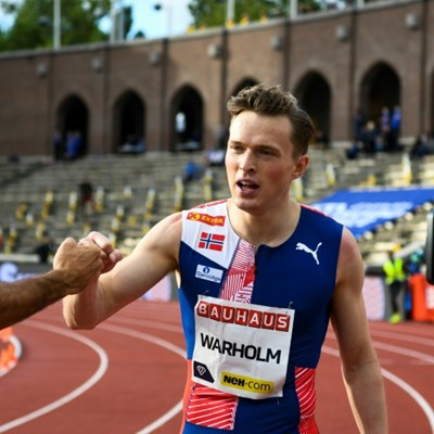 Warholm eyes 400m hurdles world record at Ostrava