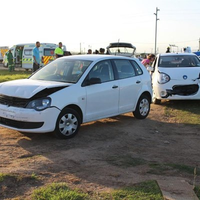 3 car pile-up on Louis Fourie | Mossel Bay Advertiser