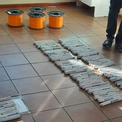 R700 000 worth of explosives found in hearse; driver arrested at Beitbridge border