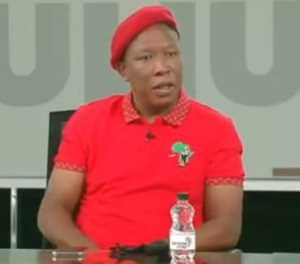 Malema: I told Cele he's scared of white people and Ramaphosa allowed 'white arrogance'