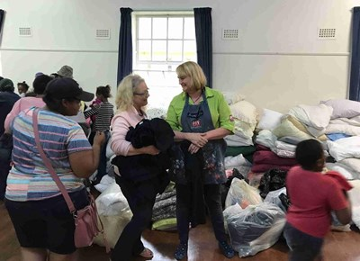 Community reach out to fire victims