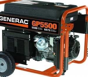 Choosing and using a generator