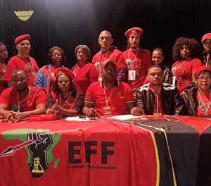 EFF elects first regional command team