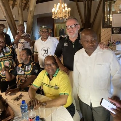 We'll oppose any attempt to arrest Zuma, says MKMVA following Nkandla meeting