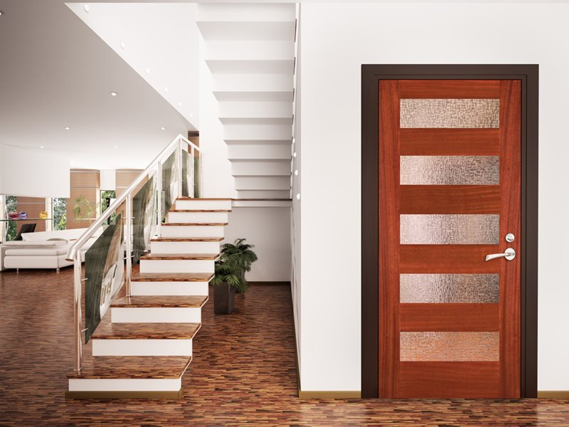 Interior Door Can Be A Feature George Herald