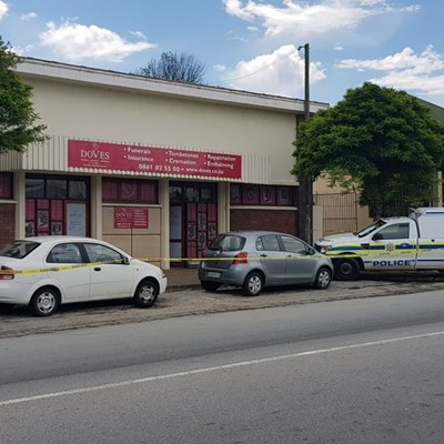 Armed business robbery in CBD