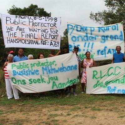 Another closed door for Hansmoeskraal land claimants