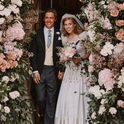 Buckingham Palace releases photos of Princess Beatrice's wedding