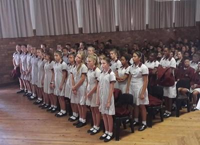 Hoër Volkskool graad 8s amptelik verwelkom