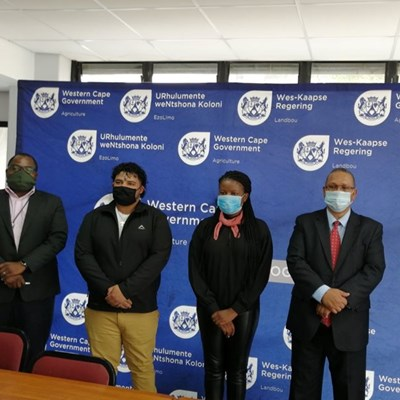 Agricultural graduate interns appointed on Western Cape farms