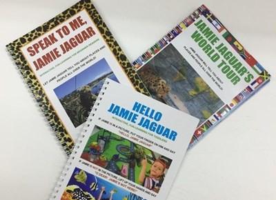 Jamie Jaguar travels around the world