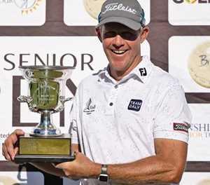 Kingston retains SA Senior Open title in Plett