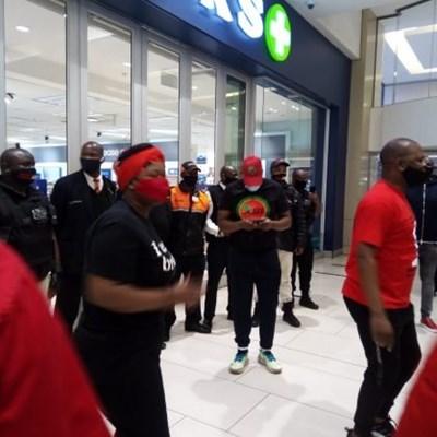 EFF shutdown protests see Alberton store set alight, Witbank store petrol-bombed