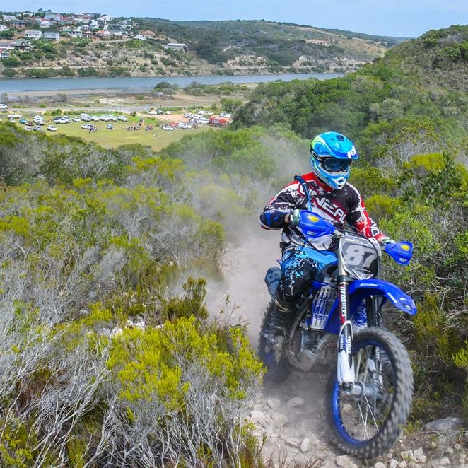 Spectacular route for dirt bike riders